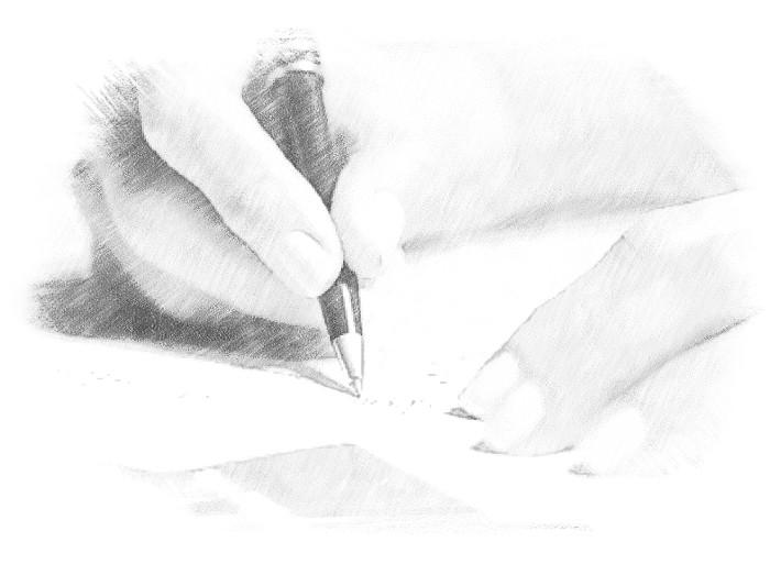 Подписывание договора о кредите