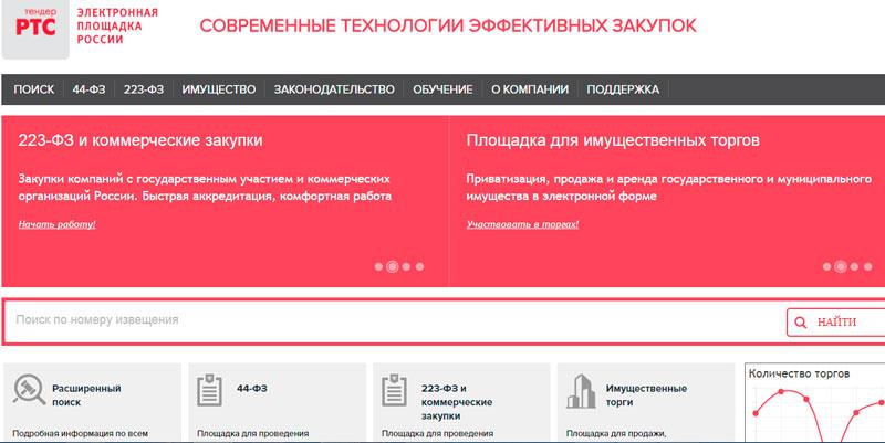 Фото с сайта: rts-tender.ru