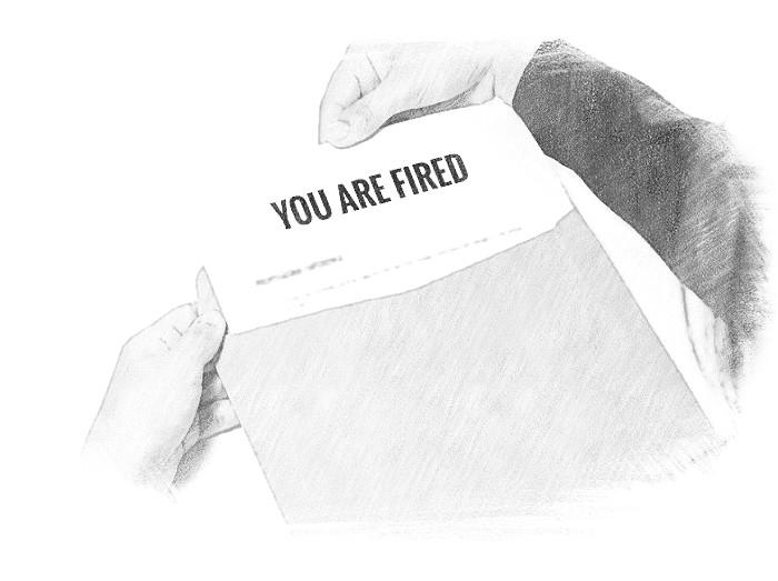Уведомление об увольнении лучше всего делать в письменной форме и персонализированное.
