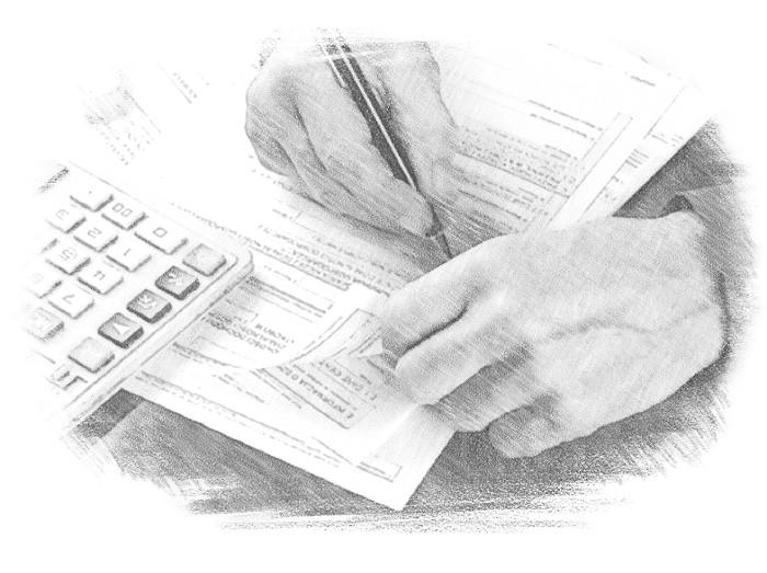 Чтобы получить кредит, гражданин должен заполнить специальную анкету