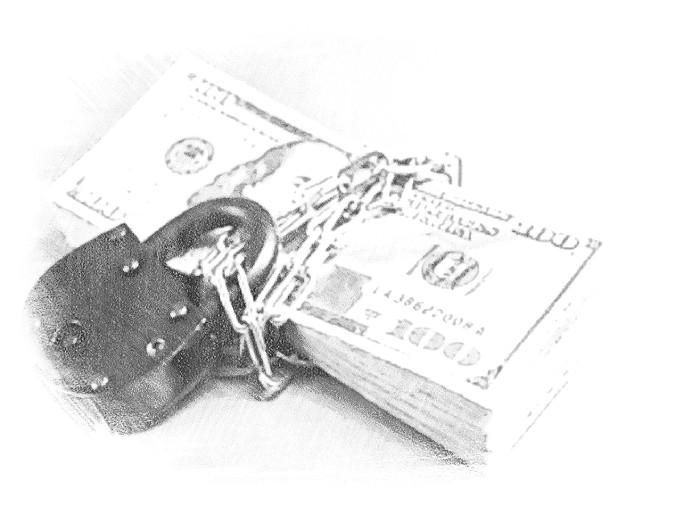 Арест денежных средств и ценных бумаг